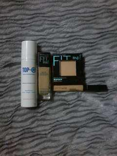 Maybelline FITME set free TOP O