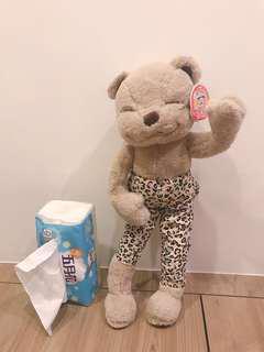 🚚 熊熊 手腳可折娃娃