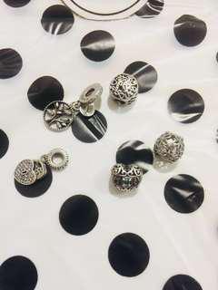 Rush Sale ‼️Pandora 92.5 Silver charms