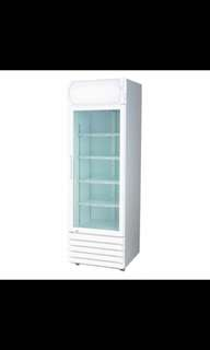1 door display chiller