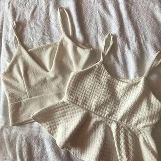 White Sexy Top Bundle