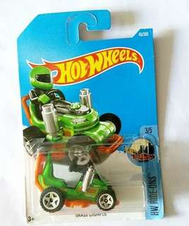 hot wheels 玩具車 grass chomper 綠 DTY39hot wheels 玩具車 grass chomper 綠 DTY39