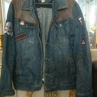 Jaket jeans import💜