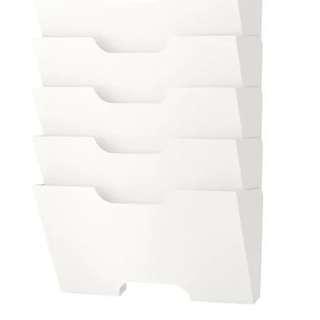 Ikea KVISSLE wall rack
