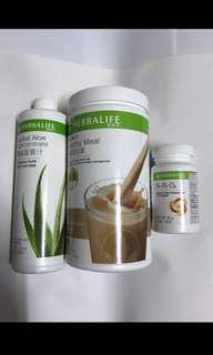 包郵 減肥三寶 咖啡味 原裝Herbalife 康寶萊
