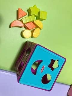 Playskool box of shapes
