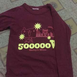 sweater maroon