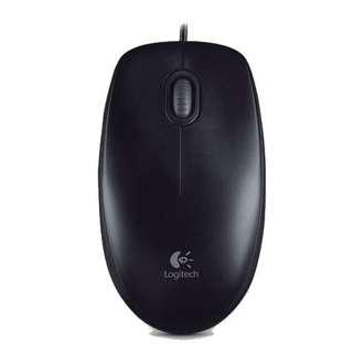 Logitech mouse optical USB B100