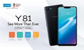 Vivo Y81 Ram 3/32