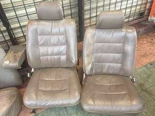 Seat mercedes w123