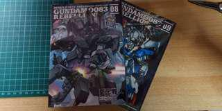 🚚 Gundam 0083 Rebellion #8 & #9 (Chinese)