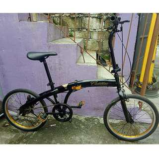 CADILLAC FOLDING BIKE (FREE DELIVERY AND NEGOTIABLE!)