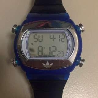 Adidas Watch Blue And Black