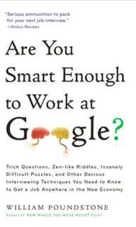 Are You Smart Enough to Work at Google? #single11