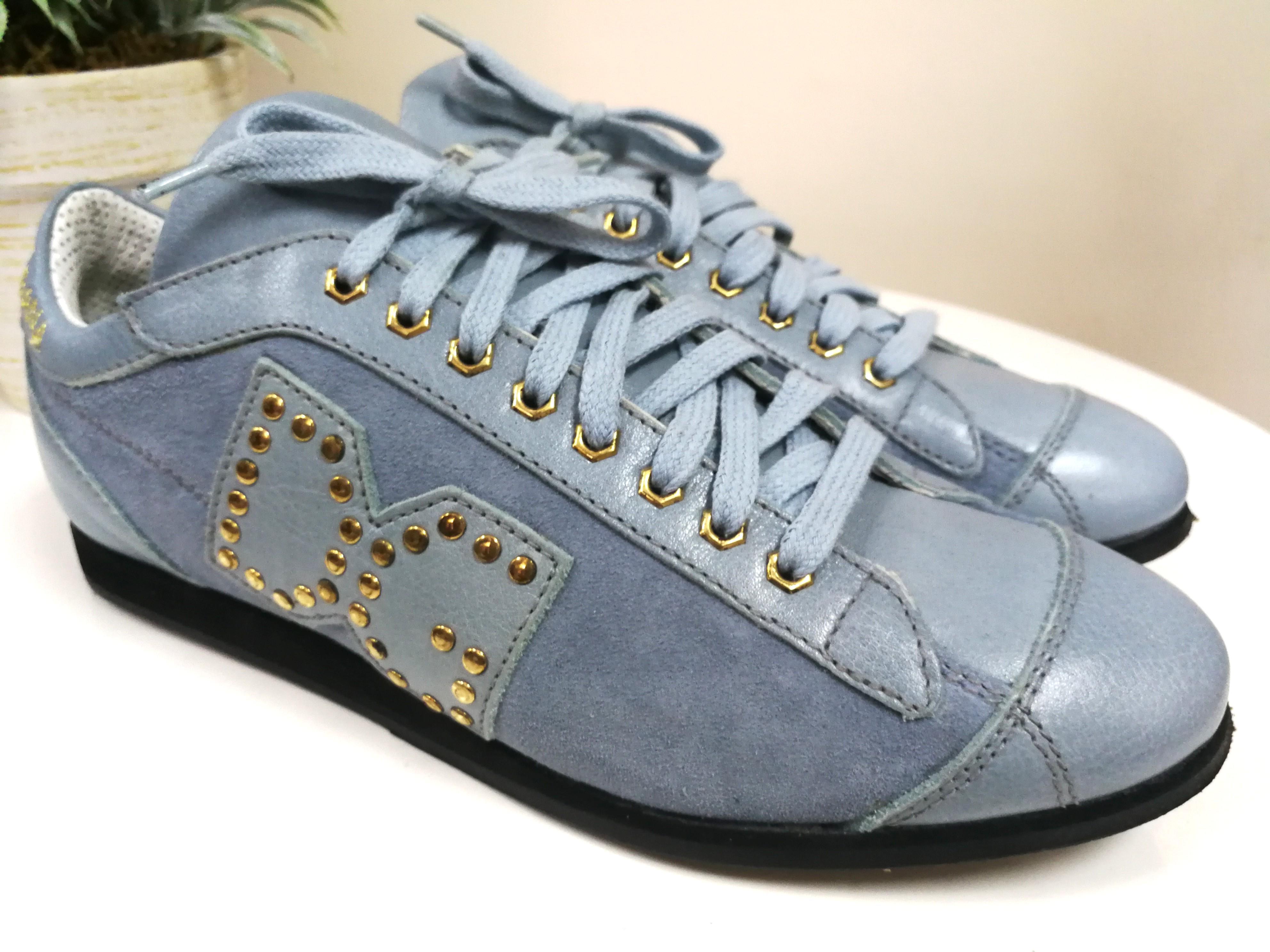 2hand】D\u0026G leather sneaker 波鞋運動鞋
