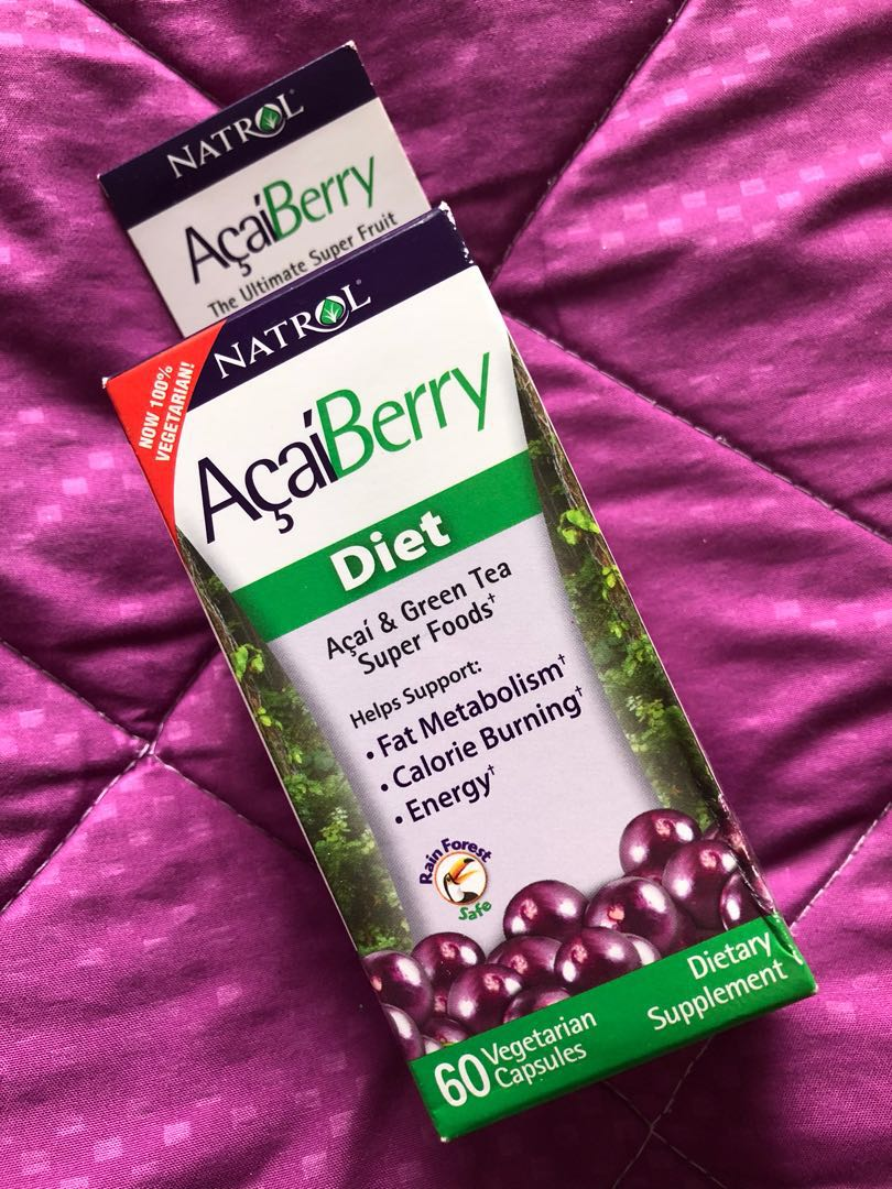 Acai Berry Diet Tablets