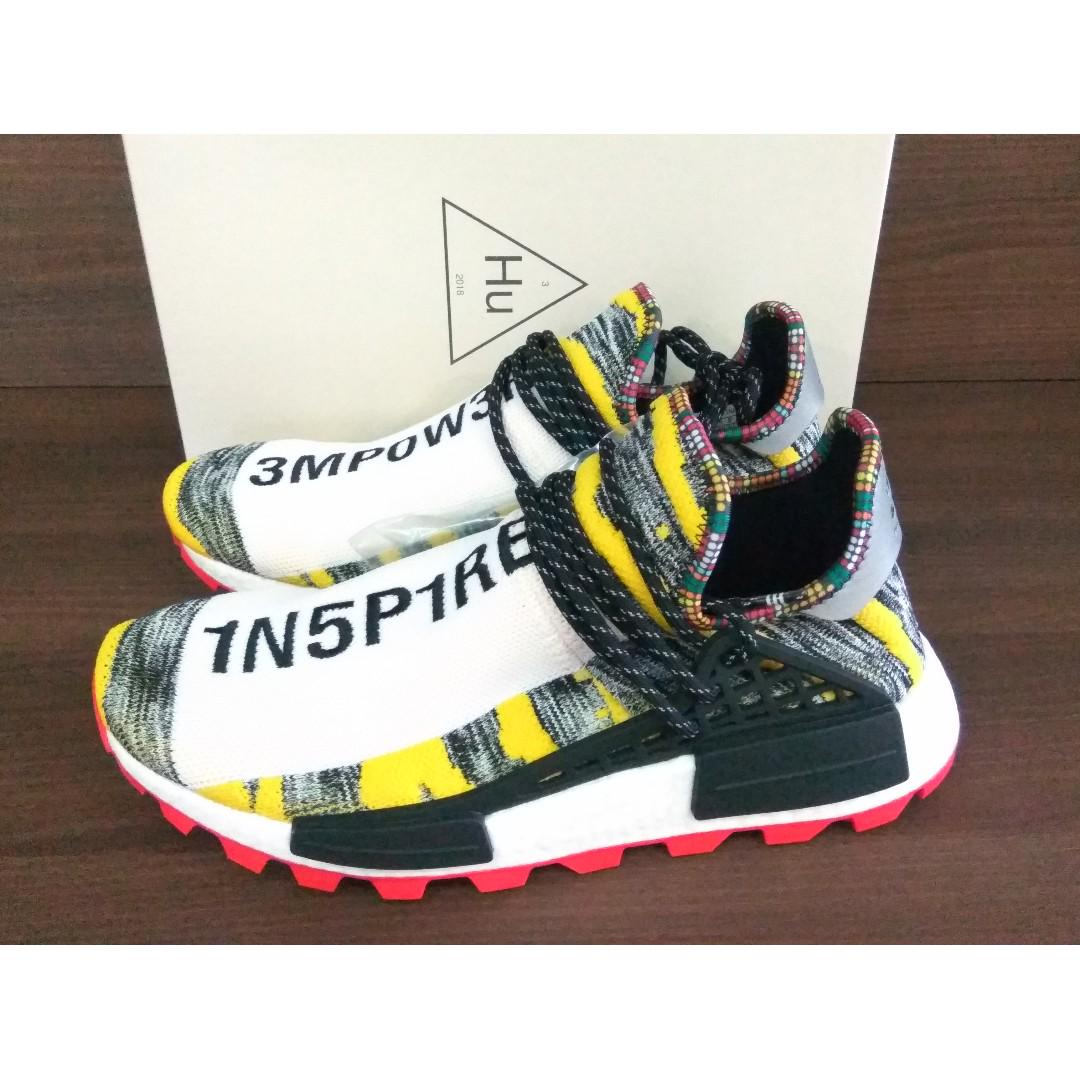 new concept 6af62 663e9 Adidas NMD Human Race Afro Solar Pack, Men's Fashion ...