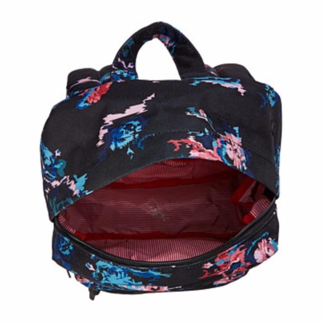 82fc01fb7bc AUTHENTIC Herschel Supply Co. bag women bag Heritage backpack Mid-Volume  blue black floral