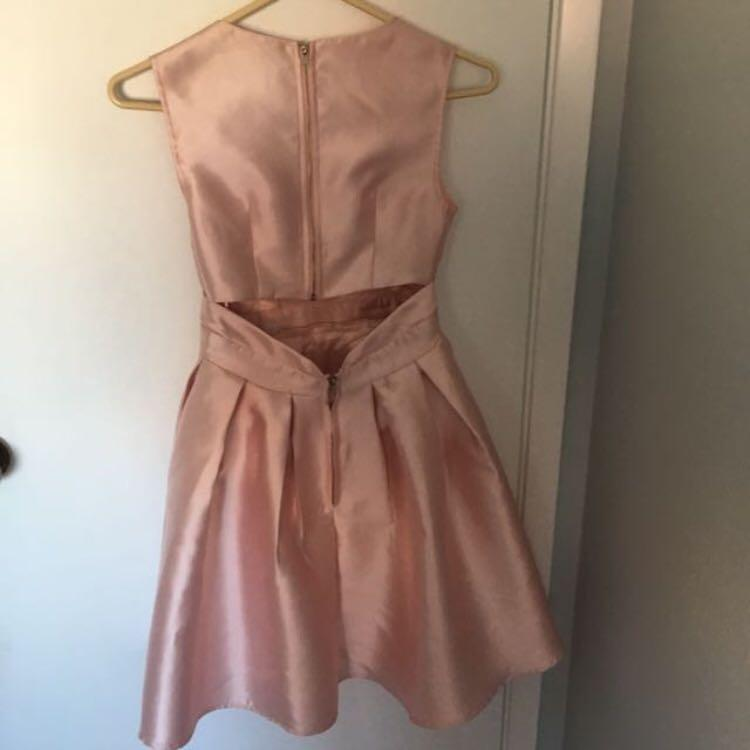 Baby pink dress size s