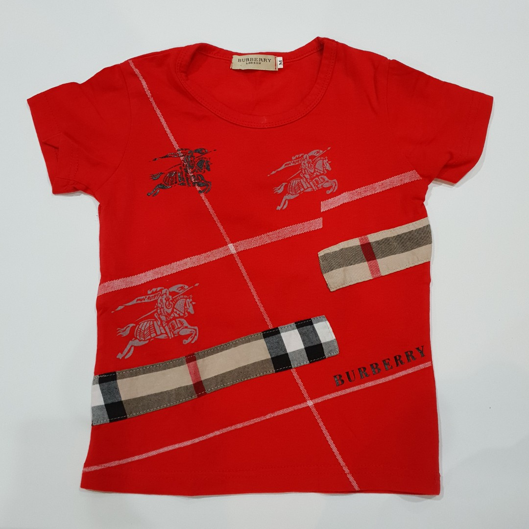 729a89e2 Burberry Printed T-shirt for Kids, Babies & Kids, Boys' Apparel, 1 ...