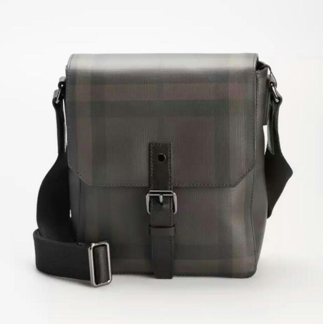 Burberry Smoke Check Sling Bag e67cc8e915c16