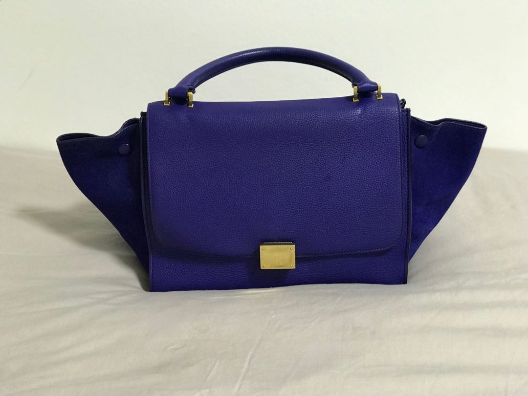 139578e035 Celine Trapeze Bag Small