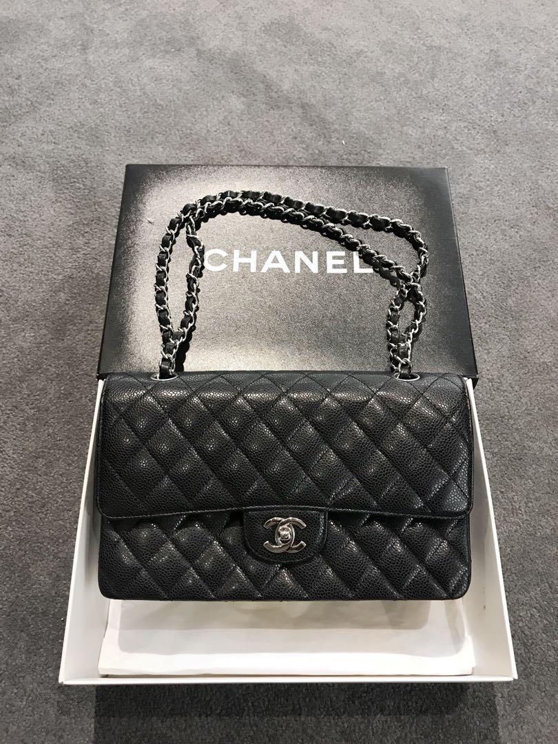 c5f2426d9bd8 Chanel Classic Medium Caviar Flap, Luxury, Bags & Wallets, Handbags ...