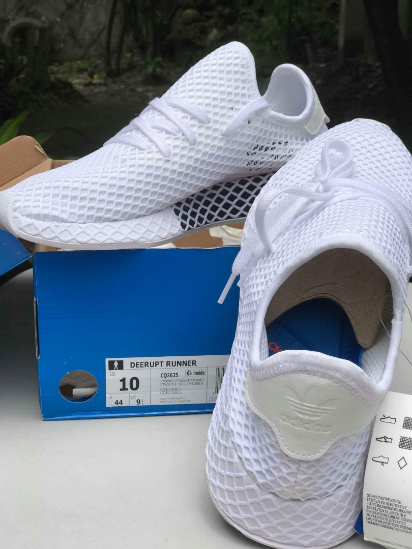 release date fb08d a0095 DEERUPT Runner Triple White (RARE) not Ultra Boost NMD Yeezy