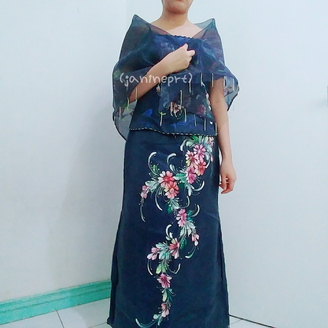 Filipiniana Gown/Dress, Women\'s Fashion, Clothes on Carousell