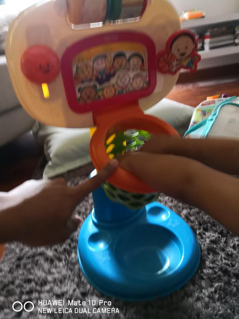 Fisher Price mini basketball toys