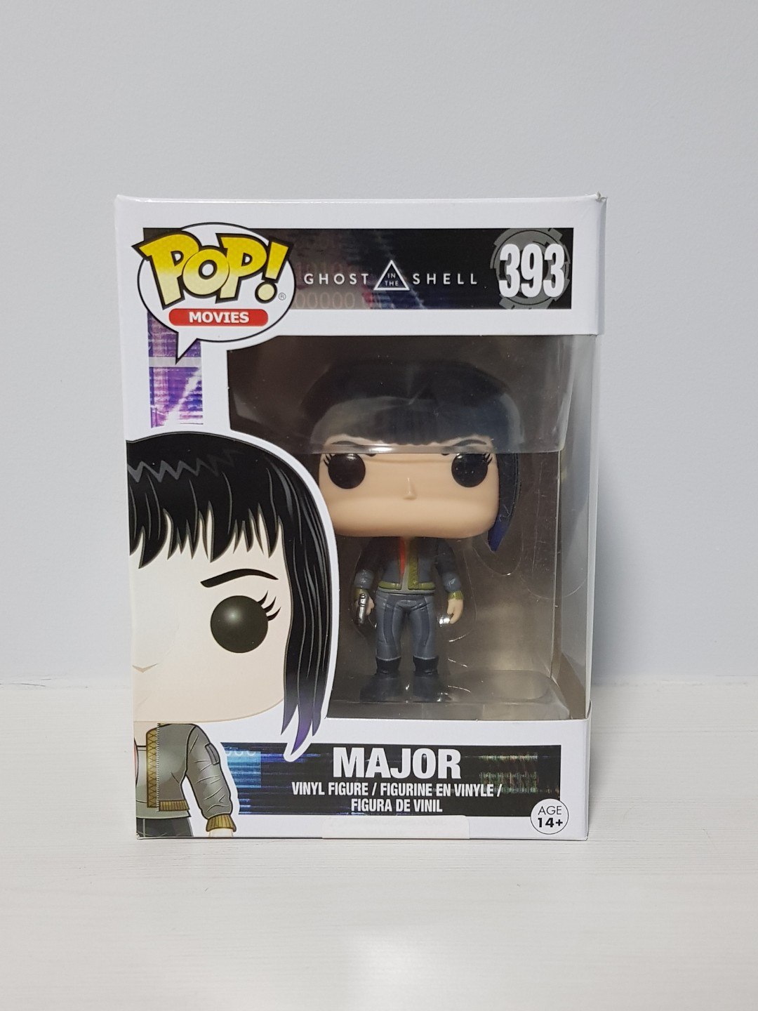 Movies New in Box Ghost in the Shell Vinyl Figure Funko POP MAJOR