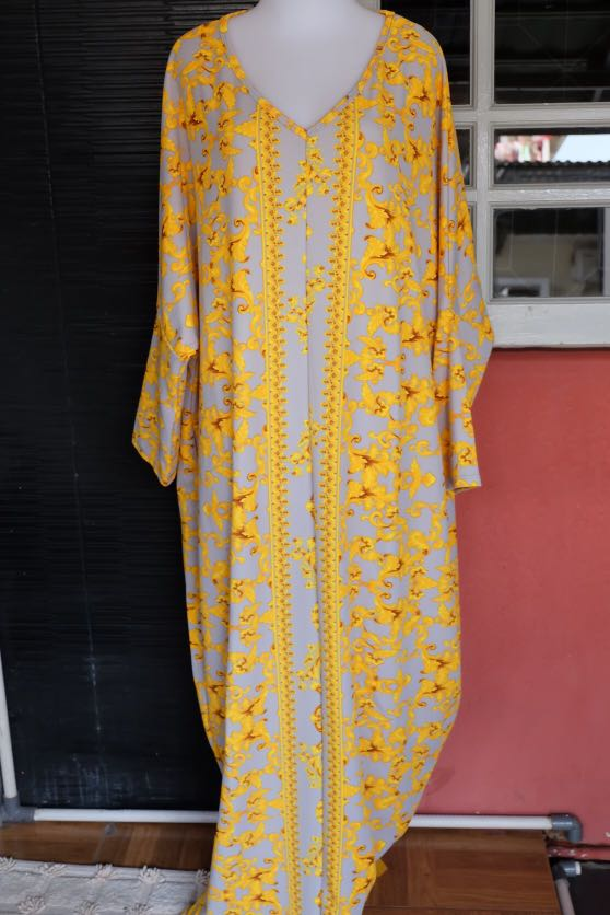 Gamis Versace Women S Fashion Women S Clothes On Carousell