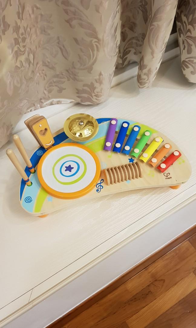 Hape Mighty Mini Band Musical Instruments Set