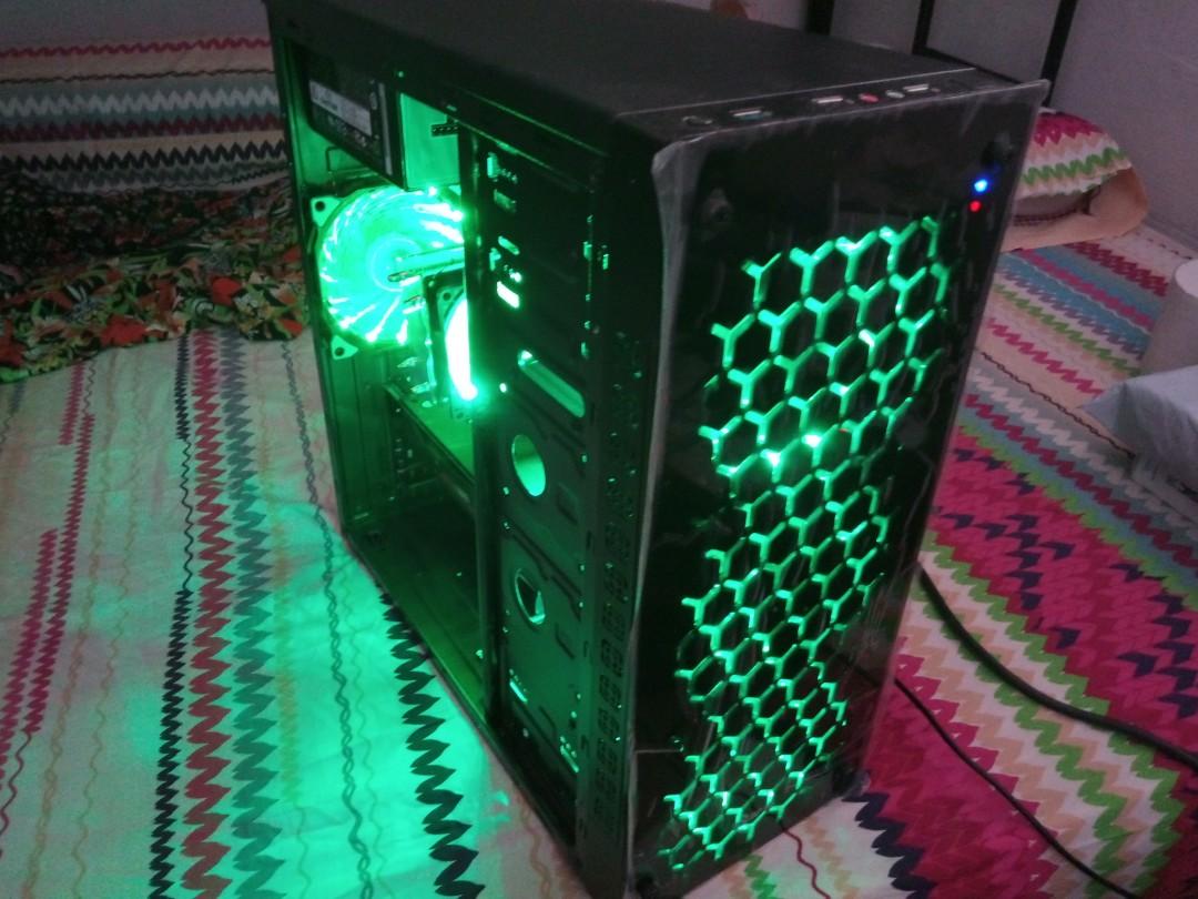 I5 2400 R9 270 Gaming Desktop Pc Electronics Computers Desktops Fsp Power Supply Hexa Plus H2 400 On Carousell