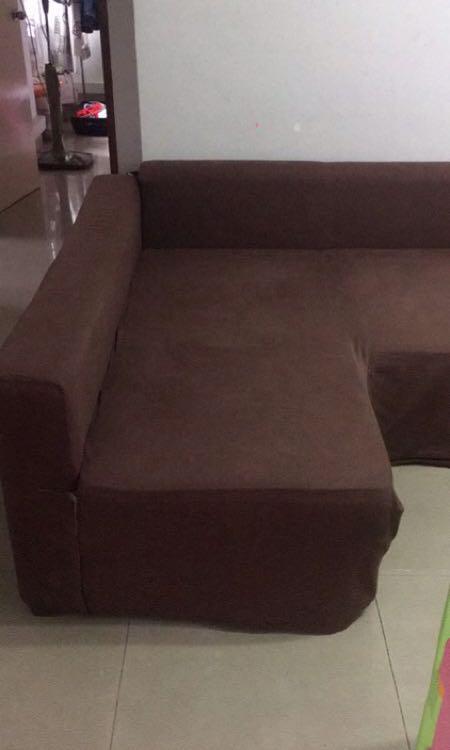 Ikea Manstad Sofa Bed Wt Washable Sofa Cover Furniture Sofas On