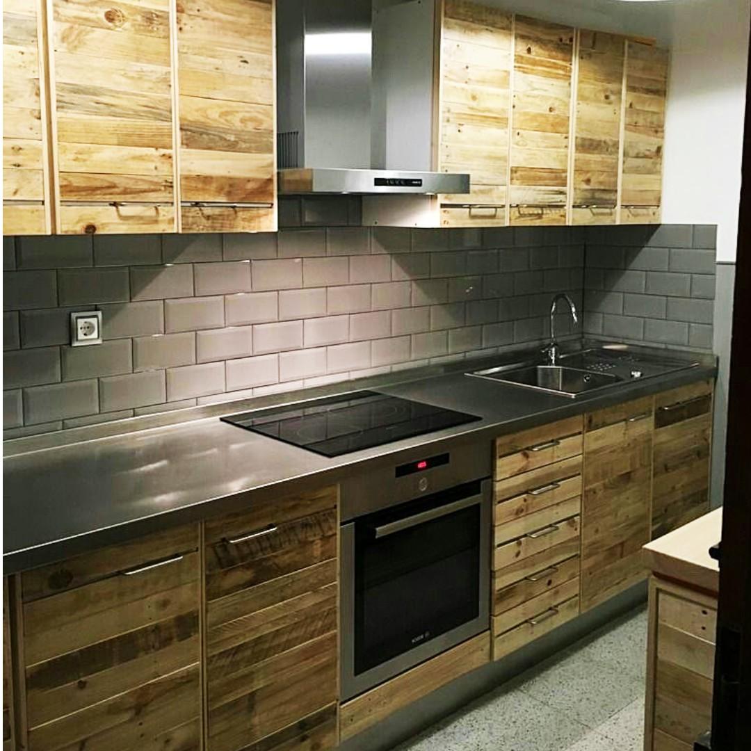 Kitchen Set Warna Kayu: Jual Kittcen Set Jati Belanda (Pinewood), Home & Furniture