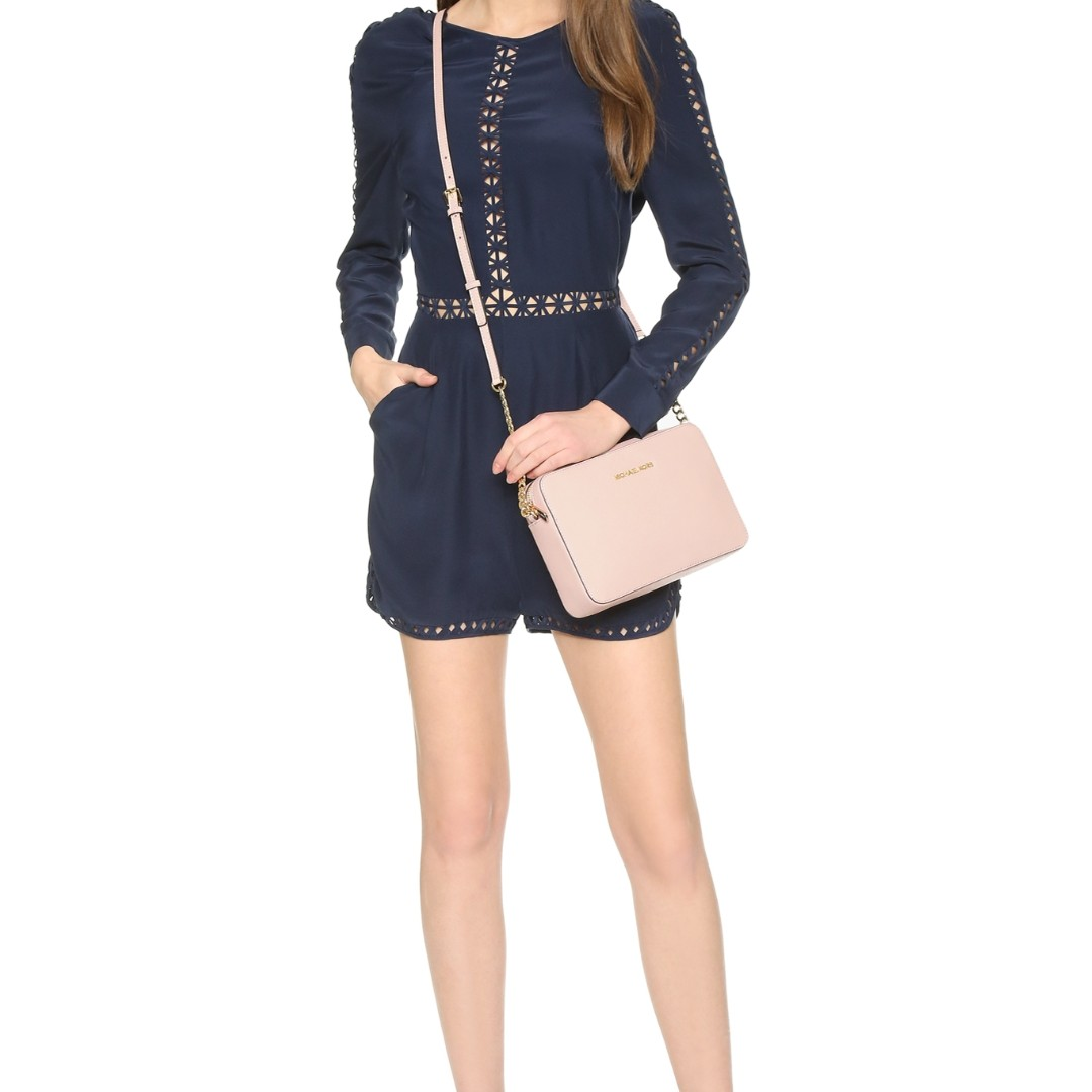 2c152e55d48a Michael Kors Jet Set Travel Large Crossbody Bag, Women's Fashion ...