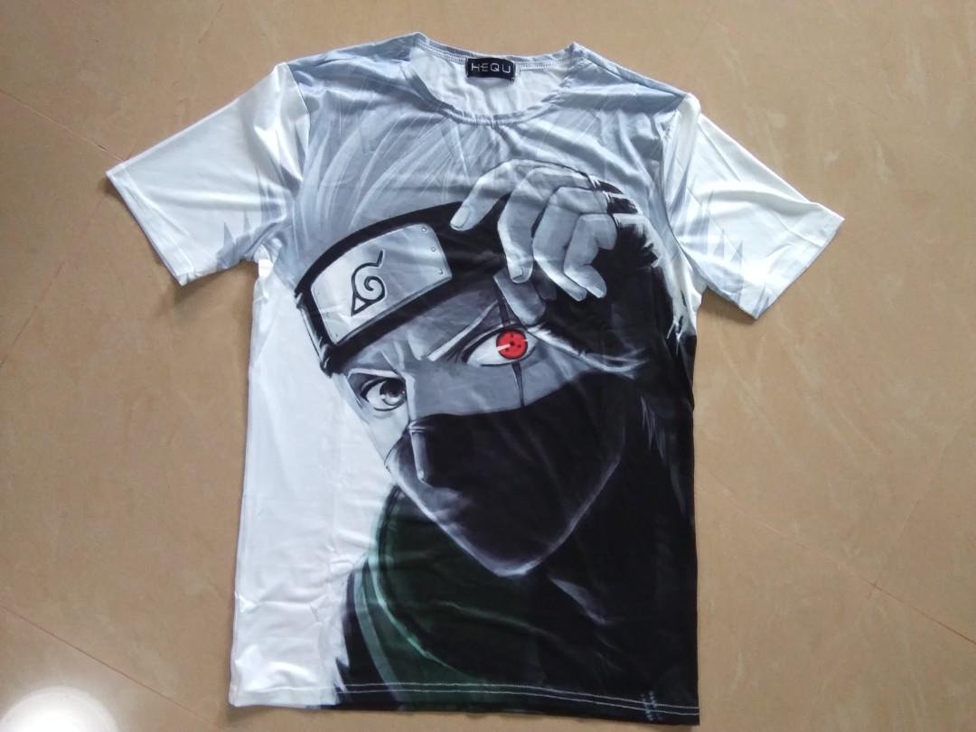 9599c51ee Naruto Kakashi T Shirt for Men (Size: Large Only) Brand New, Men's ...