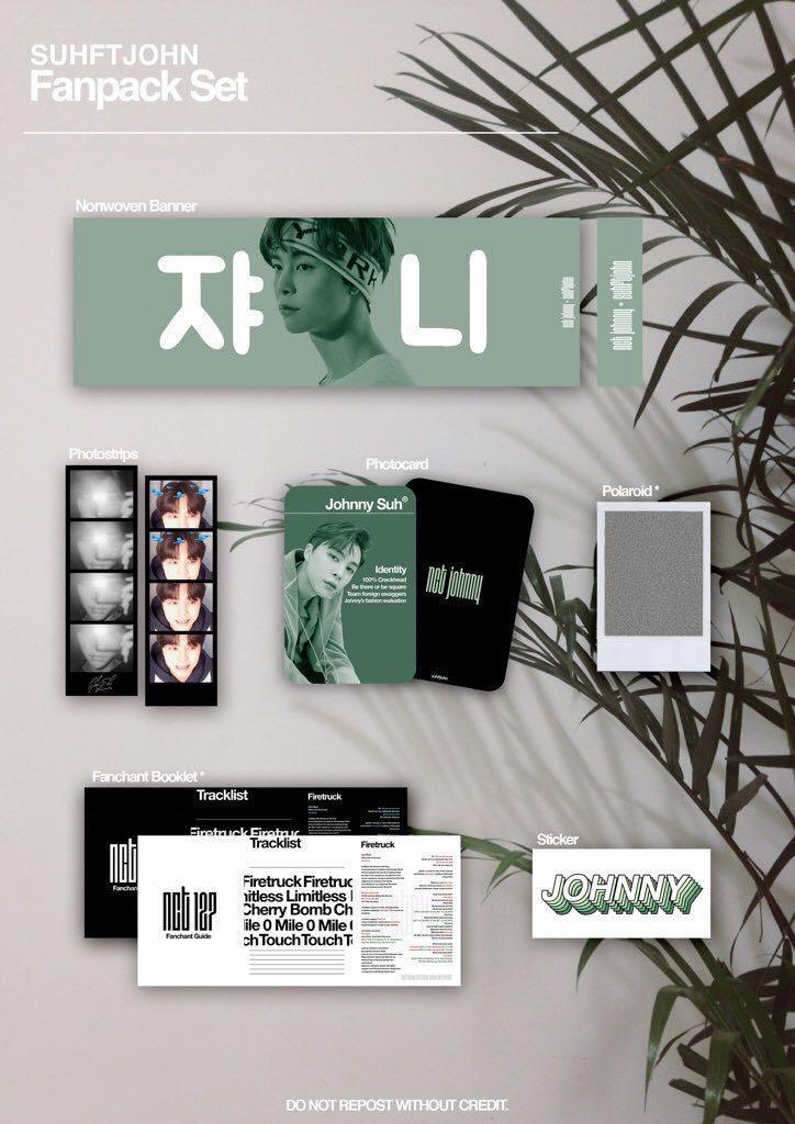 NCT127 JOHNNY Fanpack, Entertainment, K-Wave on Carousell