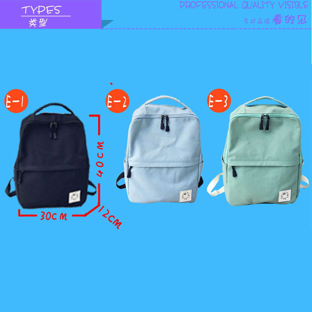 9417a6f6b705 New Arrival ♥ Korea Fashion Backpack/school/Best Gift/Embroidery/Design  customization