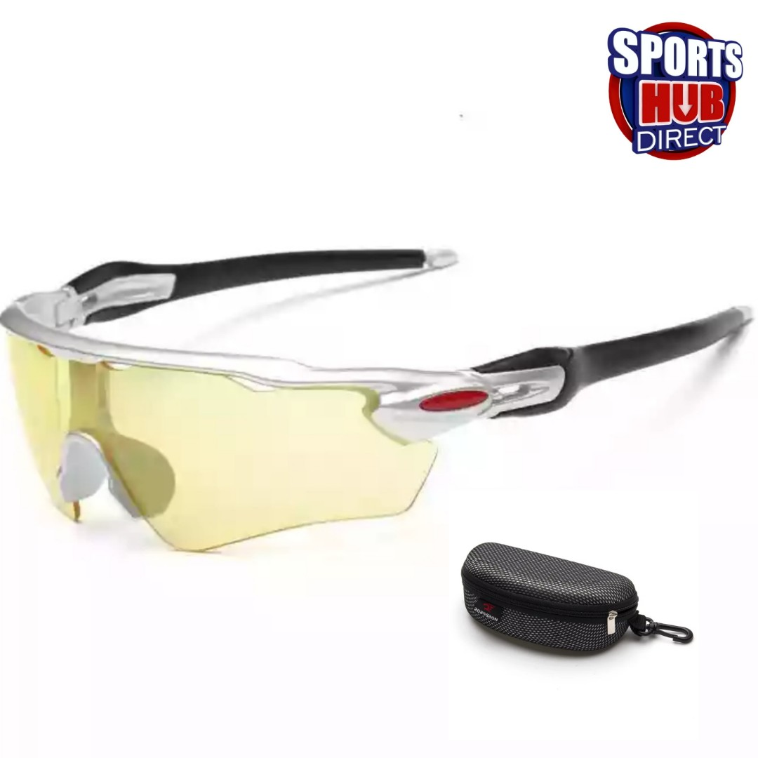 3d2db38ce5 Night or Low Light Sports Glasses (with Free Case) - Light Tint ...