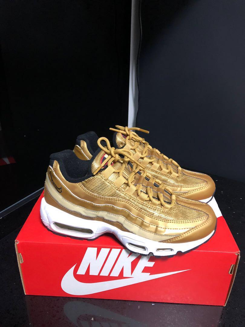 Nike Air Max 95 Gold QS UK 5.5 US 8 EUR