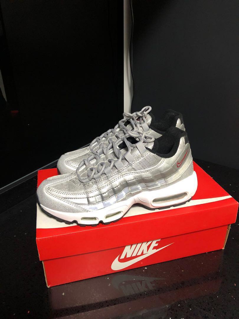 fcc4df34ea Nike Air Max 95 Silver Bullet QS UK 5.5 US 8 EUR 39 25 CM, Women's ...