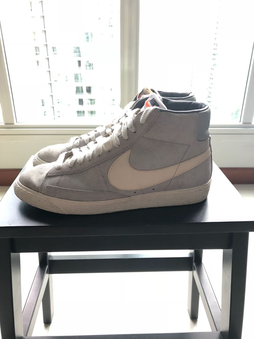 the latest 6ee22 25cd1 Nike Blazers High (Vintage) Suede