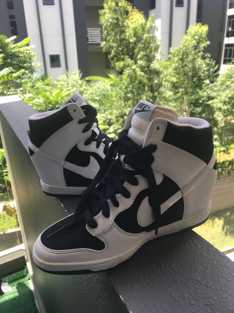 uk availability 9b177 867ed Nike Sky Dunk Wedges, Women s Fashion, Shoes, Sneakers on Carousell