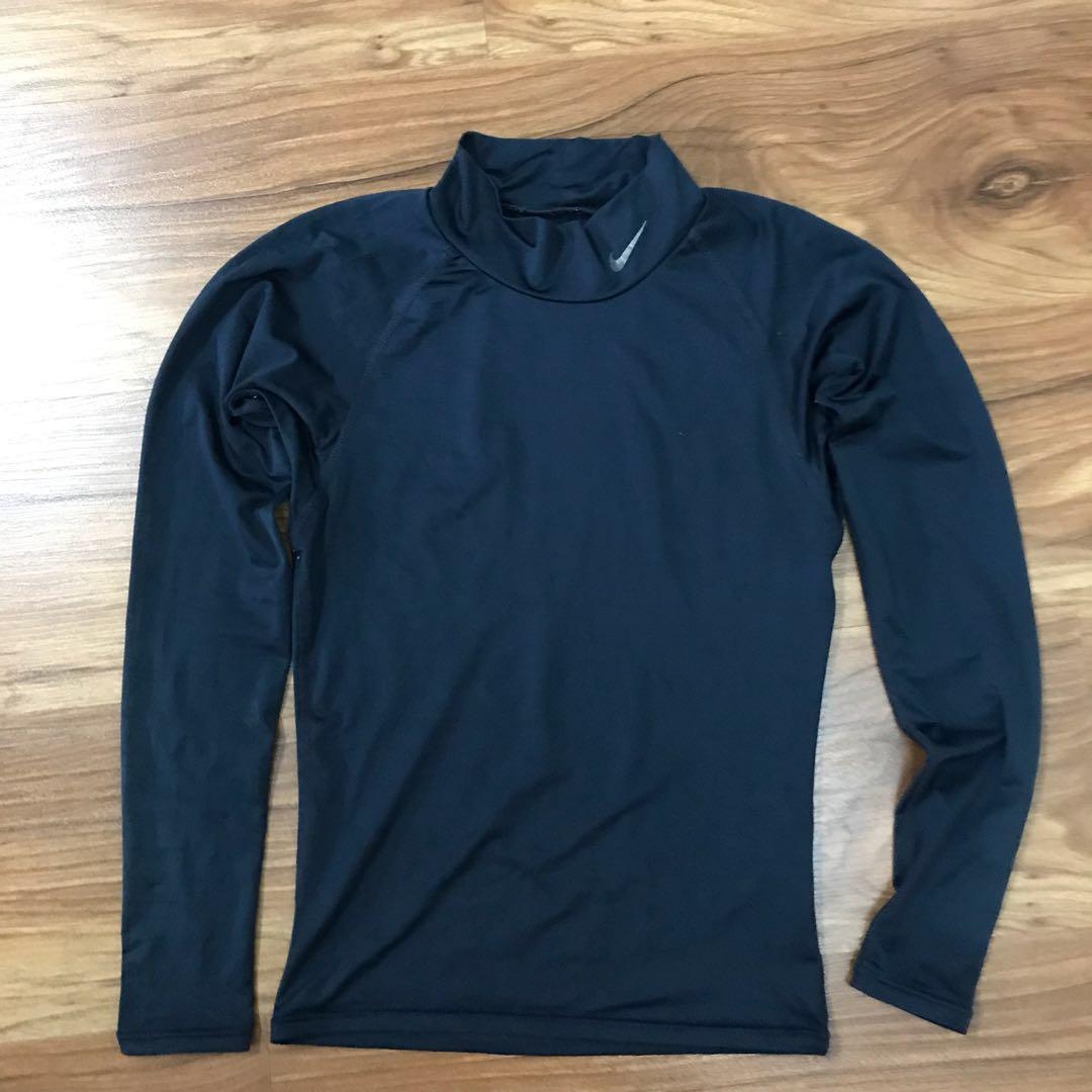 c7697665 Nike women's inner base layer inner compression tight shirt navy ...