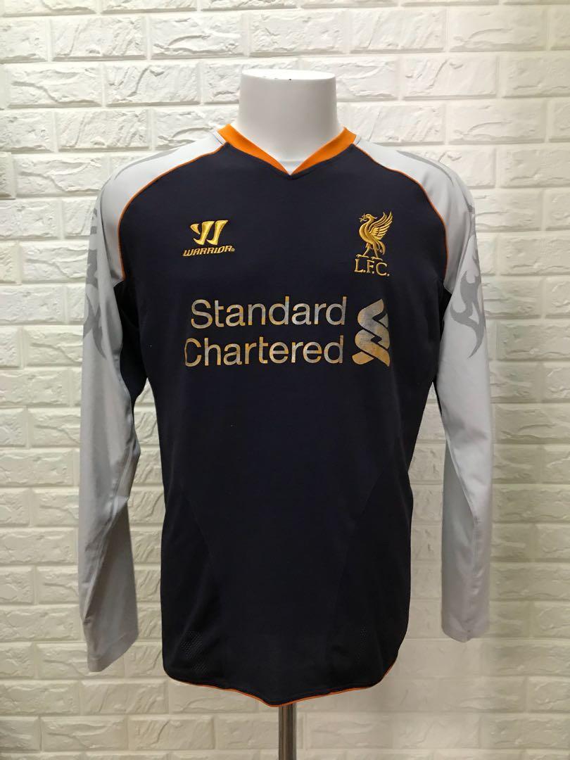 8f3205616 Original Liverpool long sleeve away jersey warriors
