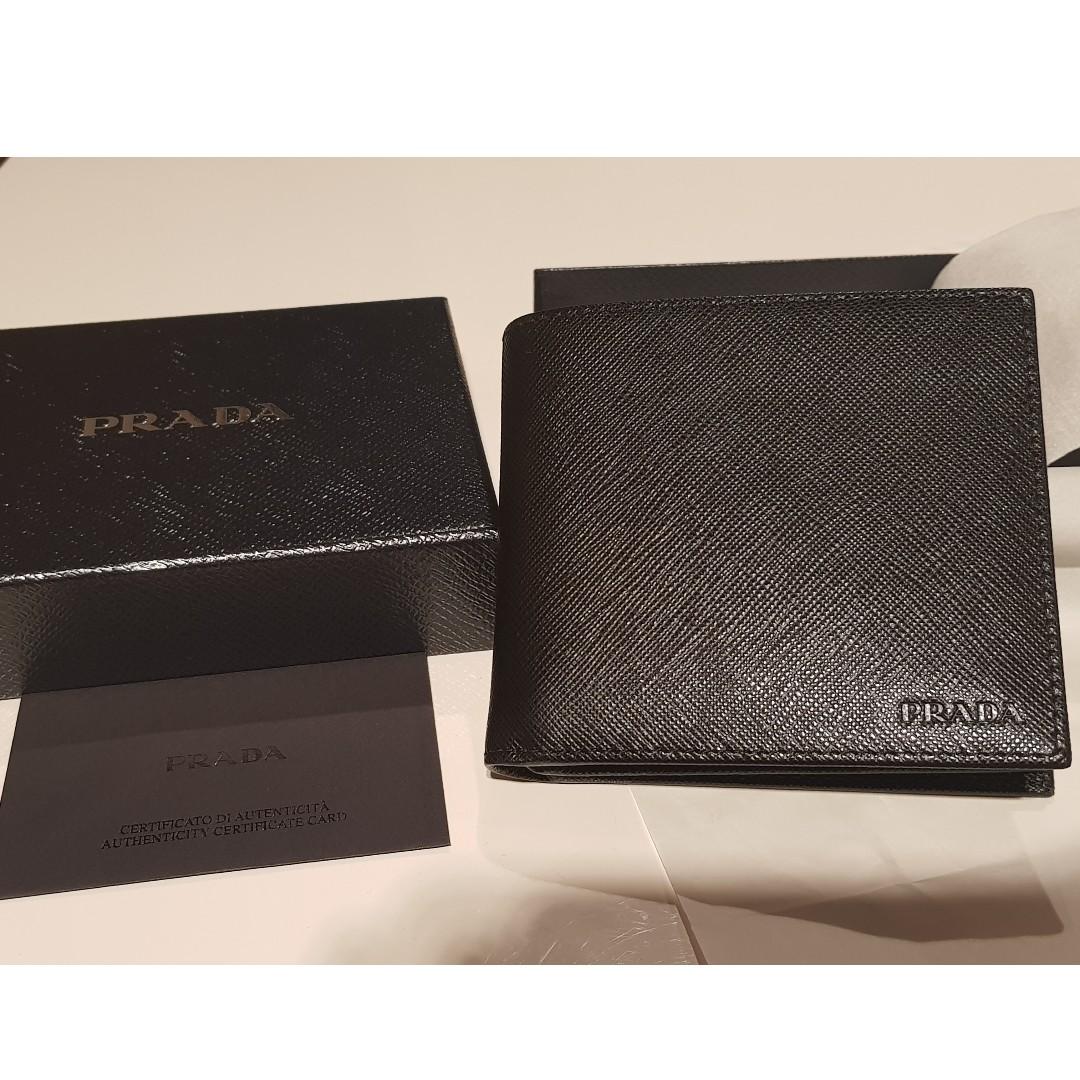 e3fef1b9f4b750 Prada Wallet - BRAND NEW, Men's Fashion, Bags & Wallets, Wallets on ...