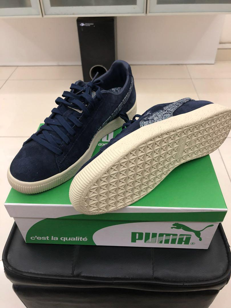 promo code 99e6a 5dd73 PUMA CLYDE CLASSIC US9, Men's Fashion, Footwear, Sneakers on ...