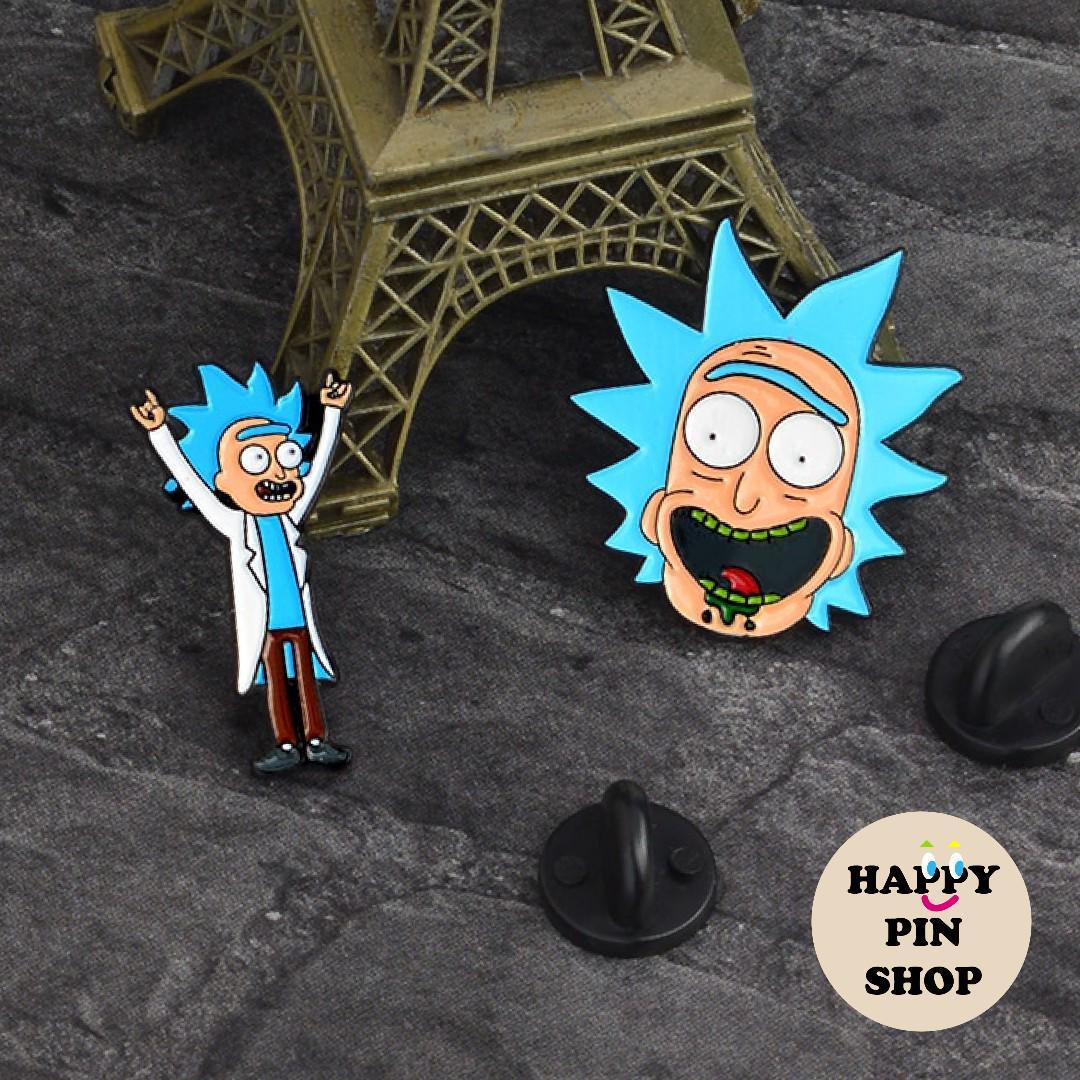 Rick Enamel Pin (Rick and Morty) [RM008], Toys & Games